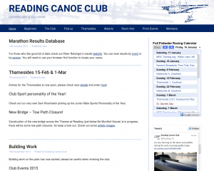 Reading Canoe Club